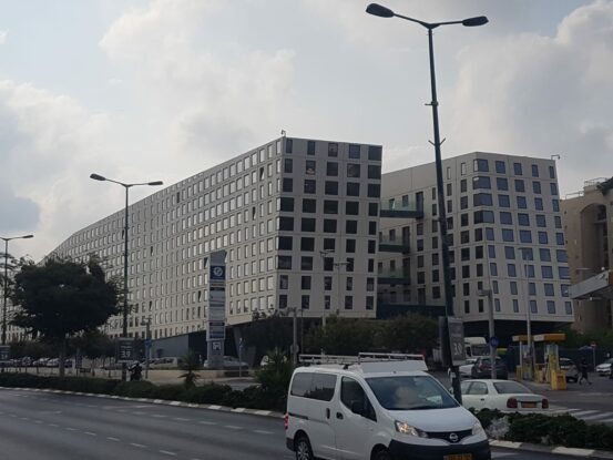green building in Israel