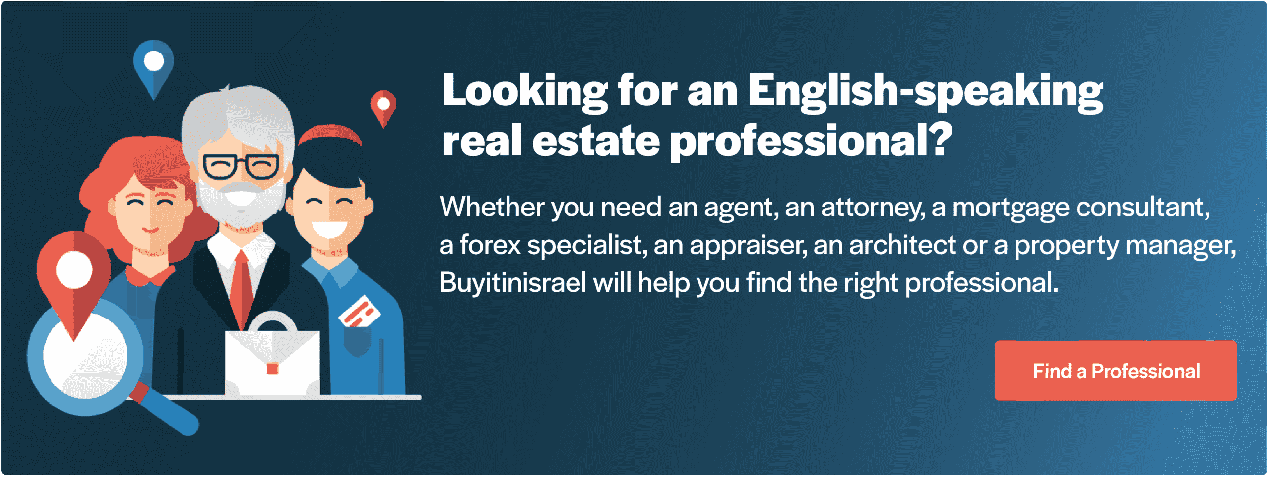 find a real estate professional in Israel